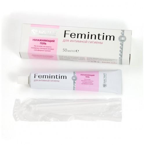 Гель увлажняющий для интимной гигиены «Femintim»  г. Ярославль
